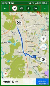 программа навигатор для андроид без интернета 21